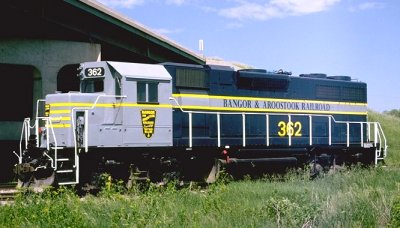 Bangor and Aroostook GP-38 #362